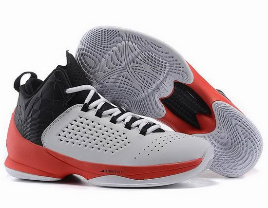 Air Jordan Melo M11 White Black Red Germany